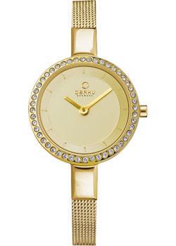 fashion наручные  женские часы Obaku V129LEGGMG. Коллекция Mesh