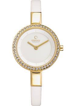 fashion наручные  женские часы Obaku V129LEGIRW. Коллекция Leather