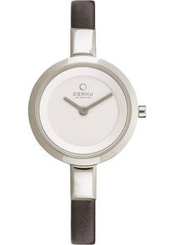 fashion наручные  женские часы Obaku V129LXCIRB. Коллекция Leather
