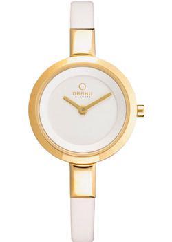 fashion наручные  женские часы Obaku V129LXGIRW. Коллекция Leather.