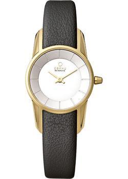fashion наручные  женские часы Obaku V130LXGIRB. Коллекция Leather