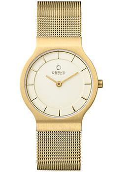 fashion наручные  женские часы Obaku V133LXGGMG. Коллекция Mesh