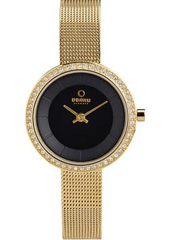 fashion наручные  женские часы Obaku V146LEGBMG. Коллекция Mesh