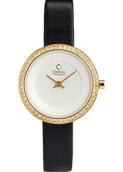 fashion наручные  женские часы Obaku V146LEGIRB. Коллекция Leather