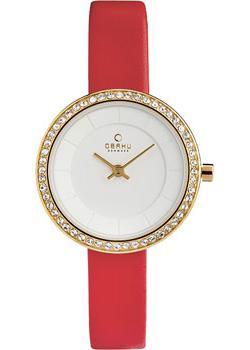 fashion наручные  женские часы Obaku V146LEGIRR. Коллекция Leather
