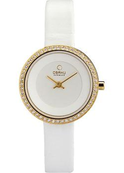 fashion наручные  женские часы Obaku V146LEGIRW. Коллекция Leather