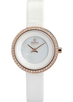 fashion наручные  женские часы Obaku V146LEVWRW. Коллекция Leather