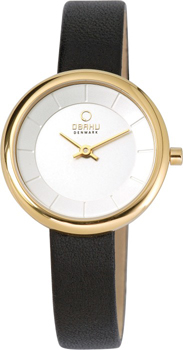 fashion наручные  женские часы Obaku V146LGIRB. Коллекция Circle