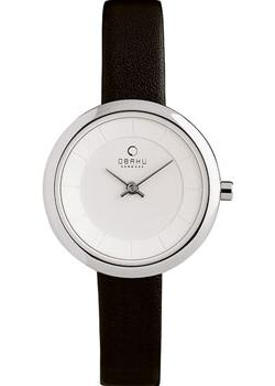 fashion наручные  женские часы Obaku V146LXCIRB. Коллекция Leather