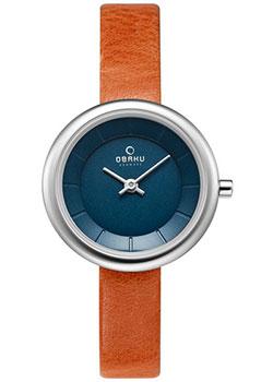 fashion наручные  женские часы Obaku V146LXCLRZ. Коллекция Leather