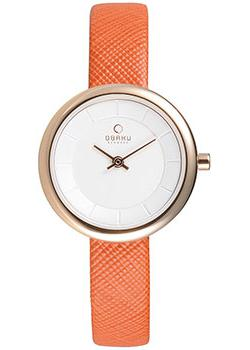 fashion наручные  женские часы Obaku V146LXVIRO. Коллекция Leather