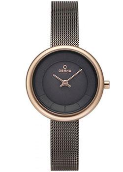 fashion наручные  женские часы Obaku V146LXVJMJ. Коллекция Mesh.