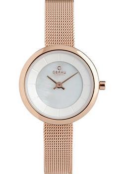 fashion наручные  женские часы Obaku V146LXVWMV. Коллекция Mesh