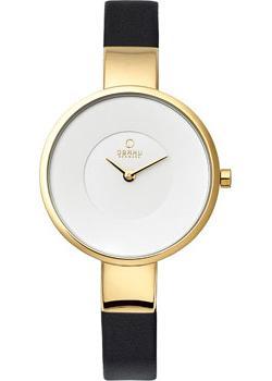fashion наручные  женские часы Obaku V149LXGIRB. Коллекция Leather