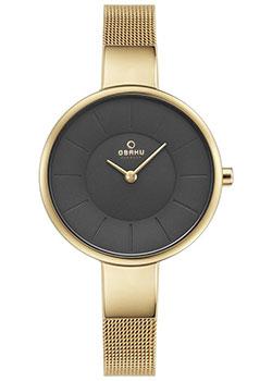 fashion наручные  женские часы Obaku V149LXGJMG. Коллекция Mesh.