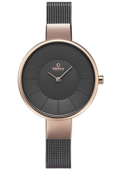 fashion наручные  женские часы Obaku V149LXVJMJ. Коллекция Mesh.