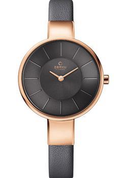 fashion наручные  женские часы Obaku V149LXVJRJ. Коллекция Leather