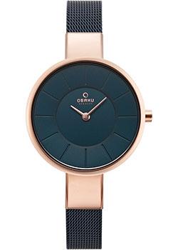 fashion наручные  женские часы Obaku V149LXVLML. Коллекция Mesh