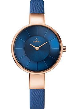 fashion наручные  женские часы Obaku V149LXVLRA. Коллекция Leather.