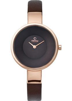 fashion наручные  женские часы Obaku V149LXVNRN. Коллекция Leather.