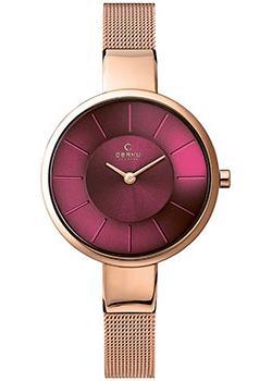 fashion наручные  женские часы Obaku V149LXVQMV. Коллекция Mesh