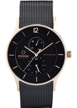 fashion наручные мужские часы Obaku V157GMVBMB. Коллекция Mesh