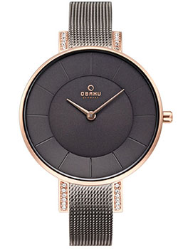 Fashion наручные женские часы Obaku V158LEVJMJ. Коллекция Mesh фото