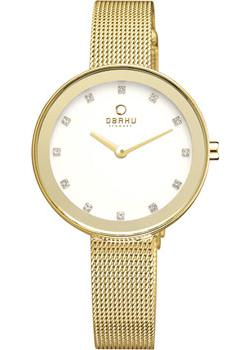 fashion наручные  женские часы Obaku V161LXGIMG. Коллекция Mesh