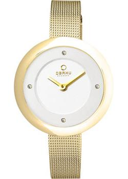 fashion наручные  женские часы Obaku V162LXGIMG. Коллекция Mesh