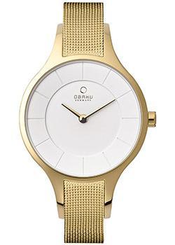 fashion наручные  женские часы Obaku V165LXGIMG. Коллекция Mesh
