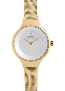 fashion наручные  женские часы Obaku V166LXGIMG. Коллекция Mesh