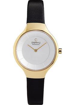 fashion наручные  женские часы Obaku V166LXGIRB. Коллекция Leather