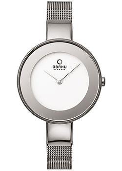 fashion наручные  женские часы Obaku V167LXCIMC. Коллекция Mesh.
