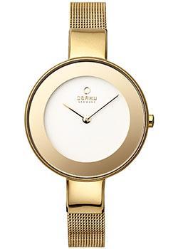 fashion наручные  женские часы Obaku V167LXGIMG. Коллекция Mesh