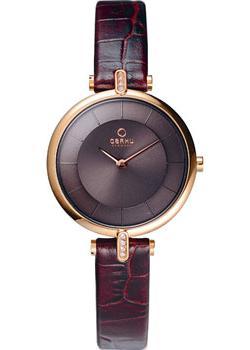 fashion наручные  женские часы Obaku V168LEVNRN. Коллекция Leather