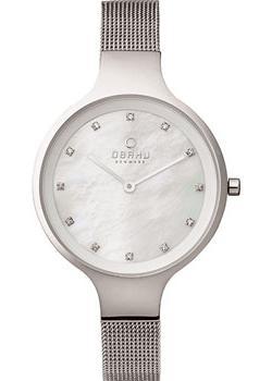 fashion наручные  женские часы Obaku V173LXCIMC. Коллекция Mesh