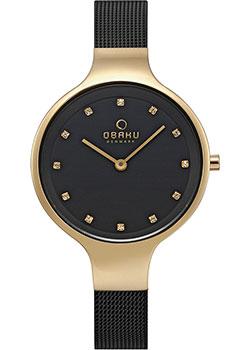 fashion наручные  женские часы Obaku V173LXGBMB. Коллекция Mesh