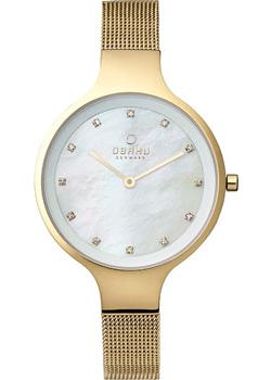 fashion наручные  женские часы Obaku V173LXGGMG. Коллекция Mesh