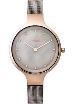 fashion наручные  женские часы Obaku V173LXVJMJ. Коллекция Mesh