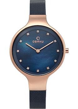 fashion наручные  женские часы Obaku V173LXVLML. Коллекция Mesh