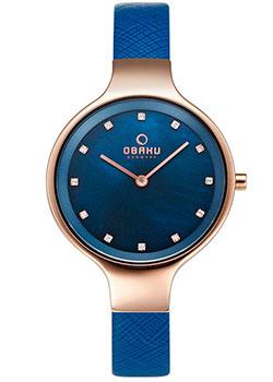 fashion наручные  женские часы Obaku V173LXVLRA. Коллекция Leather