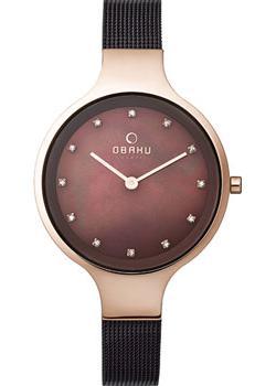 fashion наручные  женские часы Obaku V173LXVNMN. Коллекция Mesh