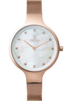 fashion наручные  женские часы Obaku V173LXVWMV. Коллекция Mesh