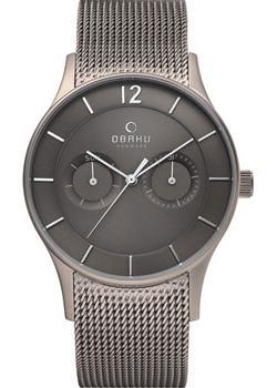 fashion наручные мужские часы Obaku V175GMTJMJ. Коллекция Mesh