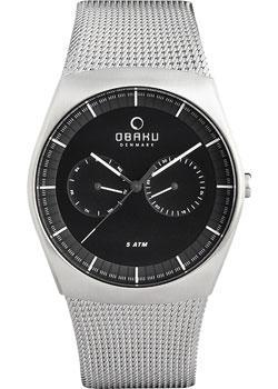 fashion наручные  мужские часы Obaku V176GMCBMC. Коллекци Mesh
