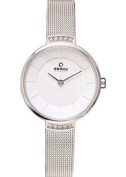 fashion наручные  женские часы Obaku V177LECIMC. Коллекция Mesh
