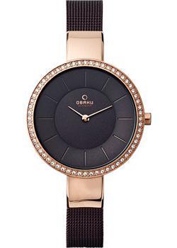 fashion наручные  женские часы Obaku V179LEVNMN. Коллекция Mesh