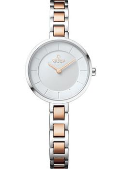 fashion наручные  женские часы Obaku V183LXCISC. Коллекция Link