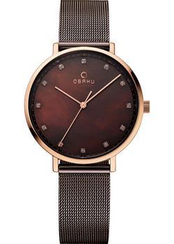 fashion наручные женские часы Obaku V186LXVNMN. Коллекция Mesh