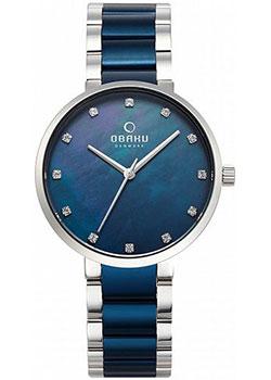 fashion наручные  женские часы Obaku V189LXCLSL1. Коллекция Links